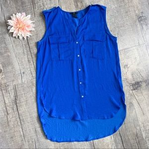 💙💙H&M Blue Sleeveless Blouse